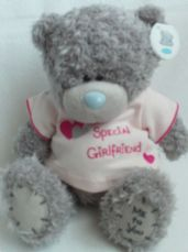 Adorable Big 'Special Girlfriend' Me to You Plush Bear BNWT
